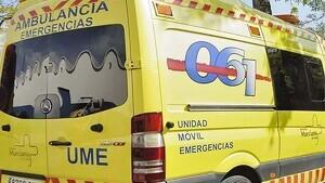 Imagen de archivo de una Unidad Móvil de Emergencias del 061 de Murcia
