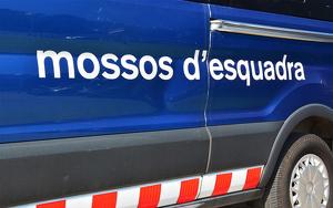 Imagen de uno vehiculo de los Mossos d'Esquadra de Cataluña