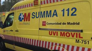 Imagen de archivo de una ambulancia del SUMMA del 112 de Madrid