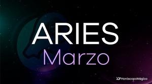 Horóscopo Aries Marzo