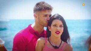 Ismael y Andrea, pareja concursante de 'La isla de las tentaciones'