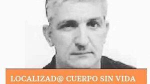 Imagen de Juan Luís, desaparecido en Manilva (Málaga) el pasado 13 de enero de 2020