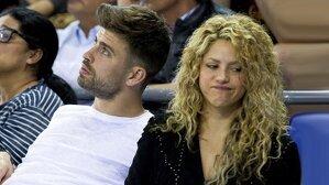 Piqué y Shakira siguiendo un partido en el Palau Blaugrana