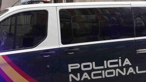 Furgoneta de la Policía Nacional