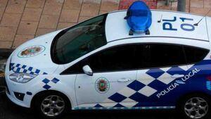 Vehículo de la Policía Local de Granada