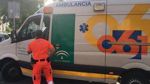 Imagen de archivo de una ambulancia del 061