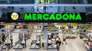 Imagen del exterior de un supermercado Mercadona