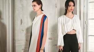 Imagen promocional de la colección 'The Gallery' de Zara con dos modelos