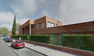 Imagen de la calle del Soto en Valladolid, donde esta situado el colegio Entre Ríos
