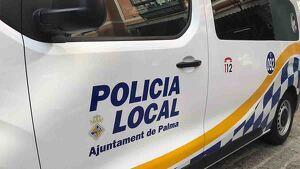 Furgón de la Policía Local de Palma
