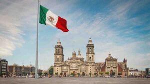 Plaza del zócalo en México D.F.