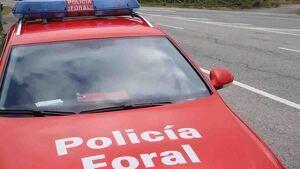 Imagen de la Policía Foral de Navarra
