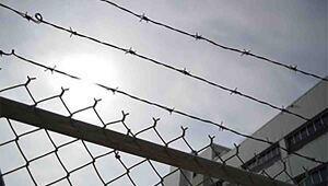 Valla de una prisión en España