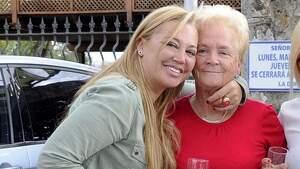 Belén Esteban y su madre, Carmen Menéndez