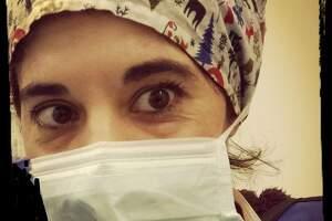 Daniella Trezzi, enfermera italiana