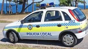 Coche patrulla de la Policía Local de Santander
