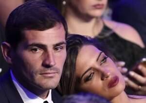 Iker Casillas y Sara Carbonero en un evento