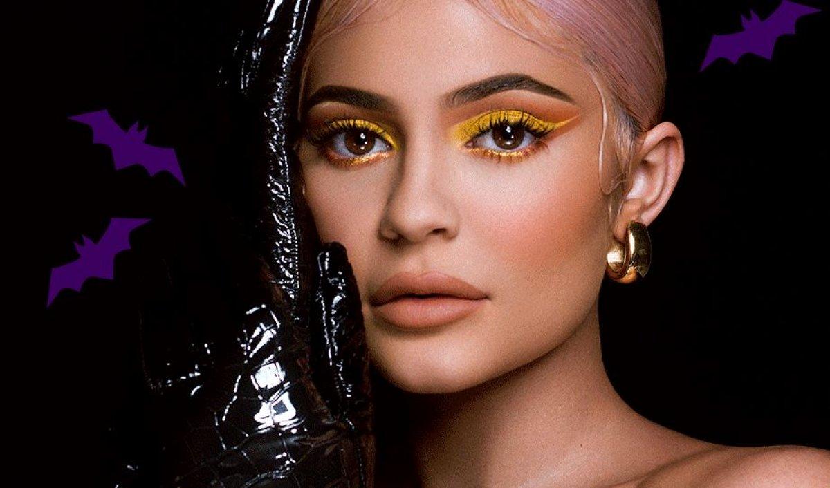 Kylie Jenner presenta Kybrow, la completa colección solo