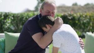 Bertín y Adrián durante la emisión del programa 'Mi casa es la vuestra'