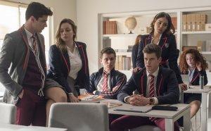Fotograma de la serie de Netflix, 'Élite'