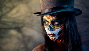La catrina mexicana, el más popular maquillaje de Halloween 2018