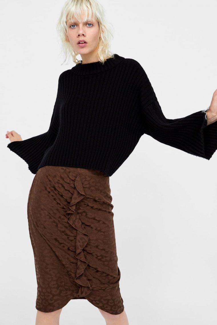 envío directo vista previa de precio de calle 15 faldas de Zara para comprar y arrasar en el 'Black Friday'