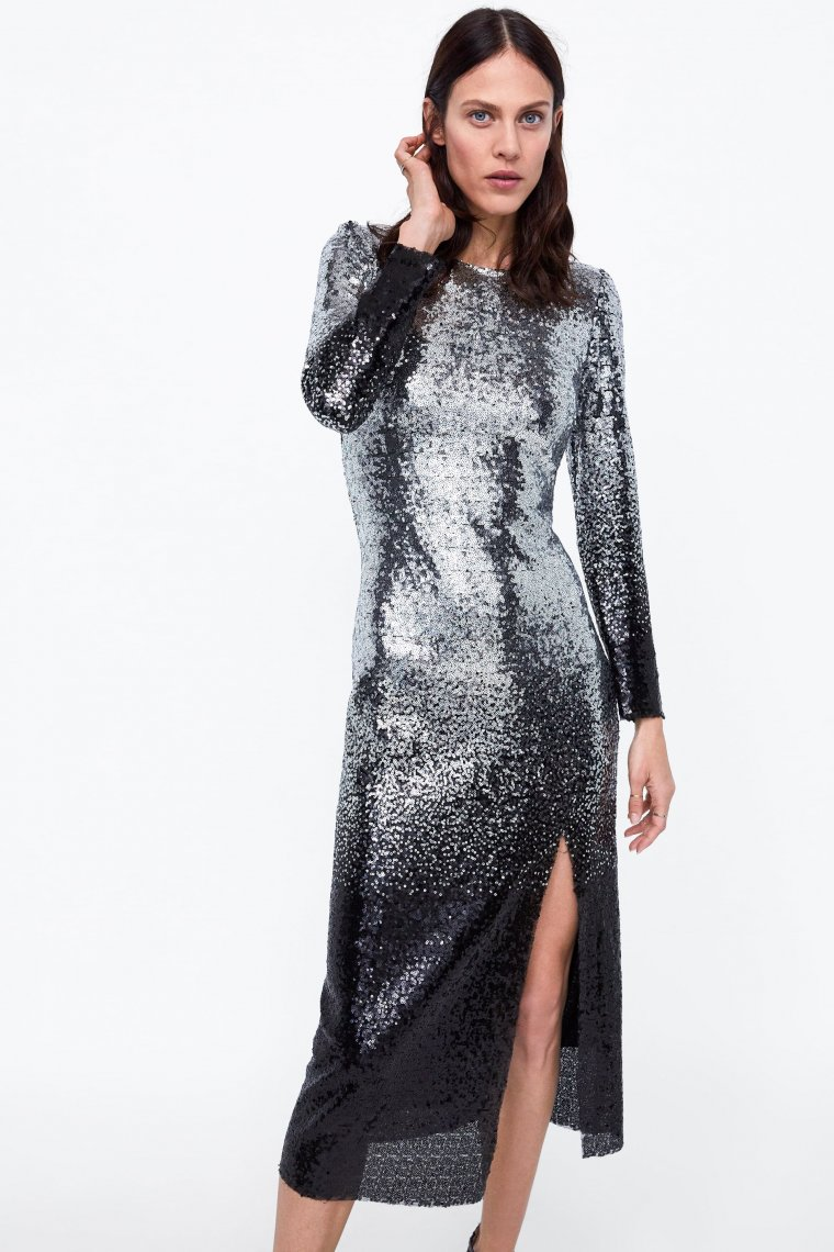 b2a62e7ece57 Los 10 mejores vestidos de Nochevieja de Zara para deslumbrar