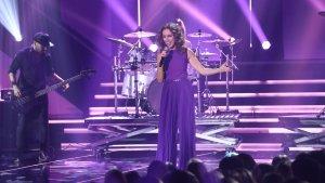 Ana Belén, durante su actuación en la gala 10
