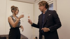 Colate y Gloria Camila, en un momento de 'Ven a cenar conmigo'