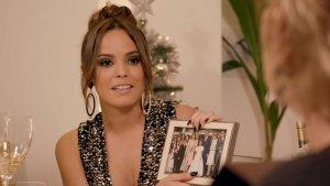 Gloria Camila muestra una foto familiar en 'Ven a cenar conmigo'