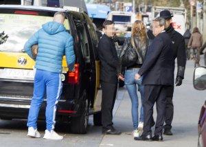 Tony Spina y Makoke compartieron taxi para volver a Madrid