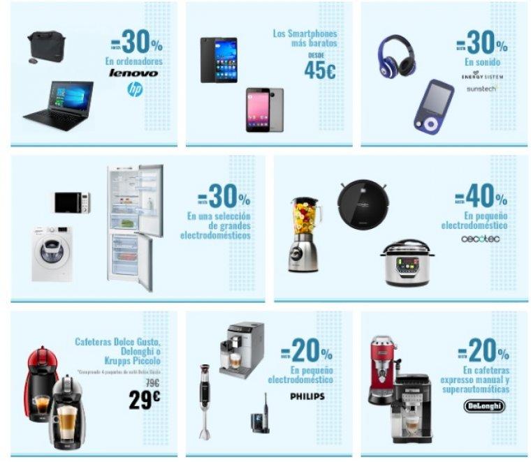 Carrefour online ofrece descuentos de hasta el 50 por cierto en Electrónica y Tecnología