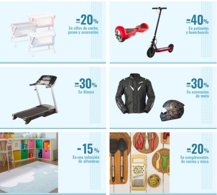 Descuentos de hasta el 25 y 20 por cierto en Electrónico y Tecnología en Carrefour online