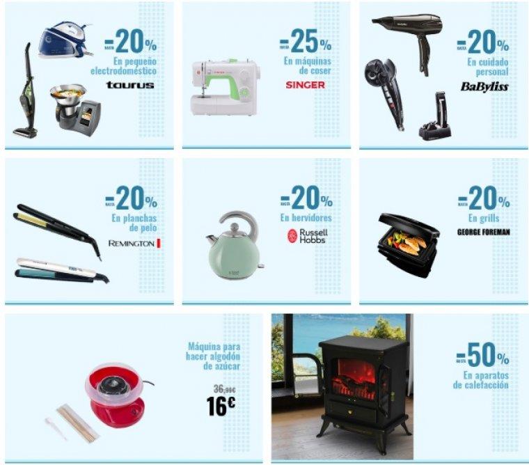 Descuentos de hasta el 30 por cierto en Carrefour Online en Electrónica y Tecnología