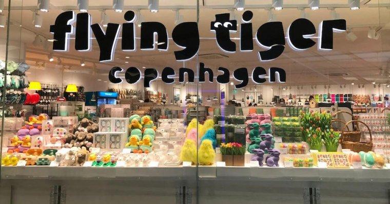 Fachada de tienda Flying tiger