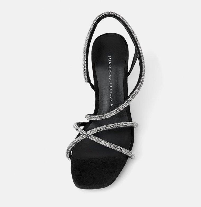 Sandalias para eventos especiales en las rebajas de Zara
