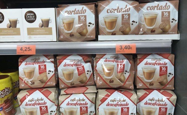 Cápsulas de café de Mercadona marca blanca