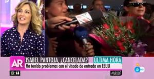 Isabel Pantoja no puede viajar a EEUU por un problema con su visado