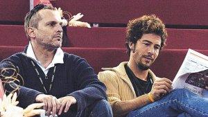 Miguel Bosé y Nacho Palau cuando eran pareja