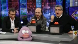 Pablo Motos, Santiago Segura y Florentino Fernández en 'El Hormiguero'