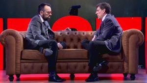 Risto Mejide y Juan Carlos Quer en 'Chester'