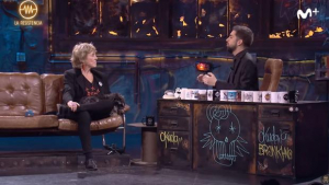 Mercedes Milá y David Broncano en 'La Resistencia'