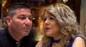 Richard y Yuderka en 'First Dates'