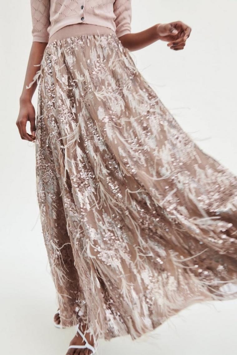 e1318fb49 Zara ha sacado la falda perfecta para los 'looks' de invitada de boda