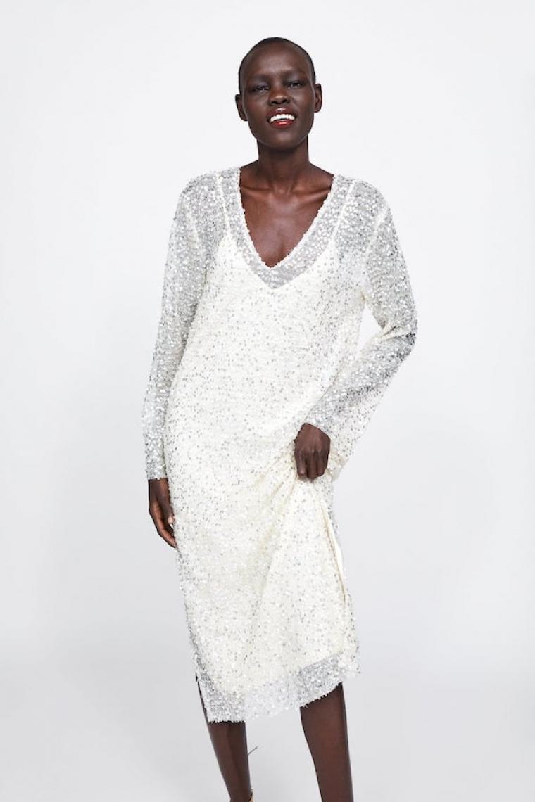 bien fuera x alta moda mejor proveedor Zara: vestidos de novia baratos para boda civil y ...