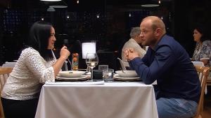 Sara y Miguel en 'First Dates'