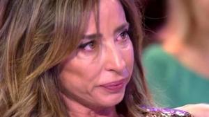 El disgusto de María al ver su foto fuera del pasillo de Telecinco
