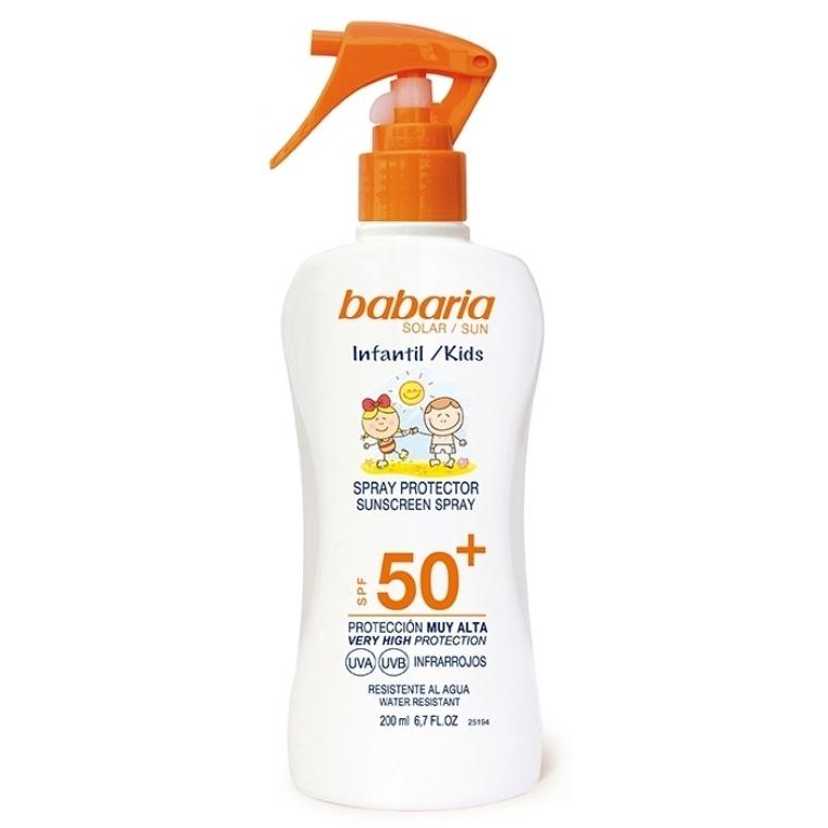 Babaria Infantil Spray Protector SPF 50+
