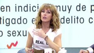 Emma García, emocionada tras escuchar el testimonio