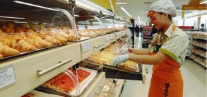 Imagen de la sección de panadería de Mercadona